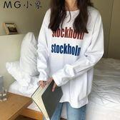 韓版休閒寬鬆長袖T恤