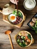 陶瓷老式燉鍋帶蓋湯鍋