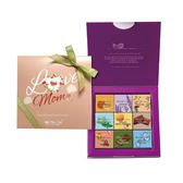 【Diva Life】母親節限定 金幻紫禮盒(比利時進口純巧克力27入)