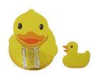 My樂貼 無痕收納系列-兒童學習專用黃色小鴨可愛造型蓮澎頭架,台灣製造 外銷精品!
