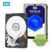 WD 威騰 藍標 2TB (7mm) 2.5吋 硬碟 WD20SPZX