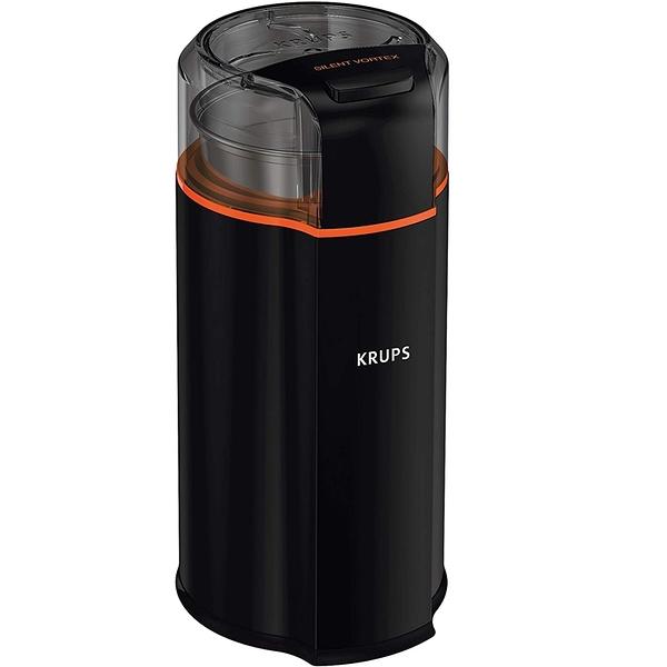 [9美國直購] KRUPS 磨豆機 GX332850 Silent Vortex Electric Grinder for Spice, Dry Herbs and Coffee, 12-Cups, Black