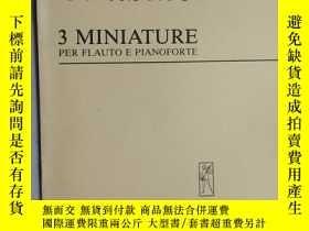 二手書博民逛書店老樂譜罕見sinisalo 3 miniature 3 mini