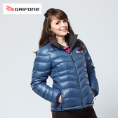 Grifone 防風羽絨外套 女 藍  A3E006