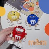 [ Airpods Pro 1/2 ] M&M 巧克力公仔 蘋果無線耳機保護套 iPhone耳機保護套
