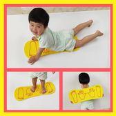 青蛙跳板兒童戶外運動游戲玩具幼兒園體育運動器材泡沫手腳協力板洛麗的雜貨鋪