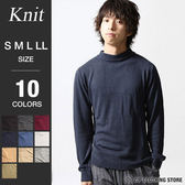 中高領針織毛衣
