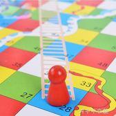 木制兒童飛行棋益智力娛樂跳棋親子互動桌面游戲棋多功能五子蛇棋「千千女鞋」