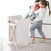 臟衣服收納筐摺疊帶蓋臟衣簍箱北歐玩具大號洗衣籃布藝家用臟衣籃 FA 免運直出 交換禮物