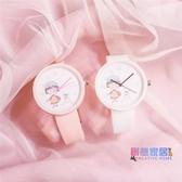 兒童手錶 兒童玩具手錶女孩防水初中小學生女童可愛軟妹電子小清新卡通手錶【快速出貨】