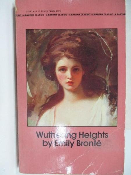 【書寶二手書T2/原文小說_ACA】Wuthering Heights_Emily Bronte