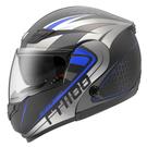 【東門城】ASTONE RT1100 GG23(平黑藍) 可掀式安全帽 雙鏡片