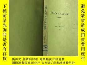 二手書博民逛書店TRACE罕見ANALYSIS : 痕量分析 第四卷 英文版Y2