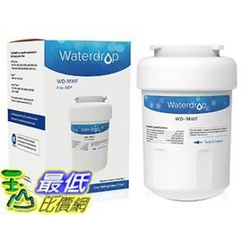 美國直購 Waterdrop MWF濾心濾芯冰箱濾心替代GE MWF SmartWater for GE MWF SmartWater,MWFA,MWFP,GWF,GWFA_TC2