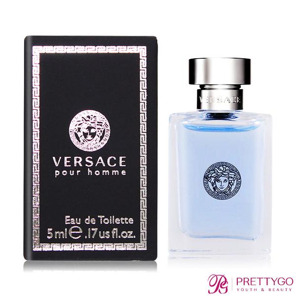 Versace Pour Homme 經典男性淡香水(5ml) EDT-公司貨【美麗購】