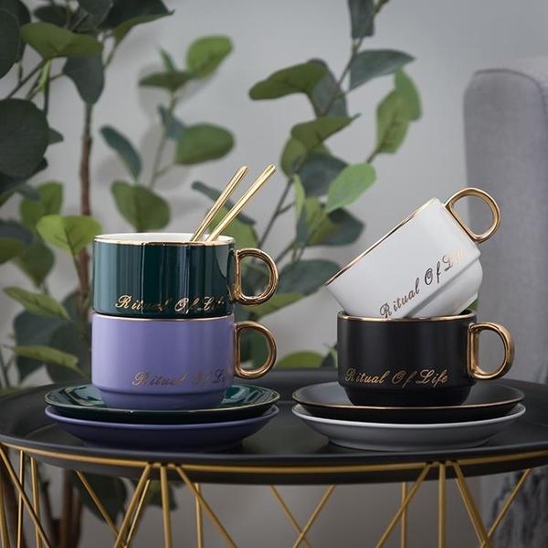 陶瓷咖啡杯碟送禮