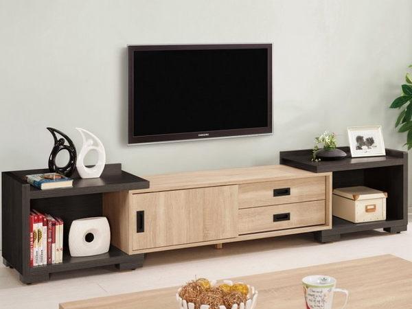電視櫃 MK-320-1 艾爾莎4尺伸縮長櫃【大眾家居舘】