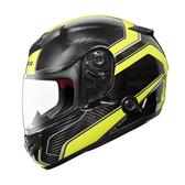 【ZEUS  ZS-1200E N41 黃 碳纖維 全罩 安全帽 瑞獅  安全帽 航太材質】內藏鏡片、免運費+贈好禮