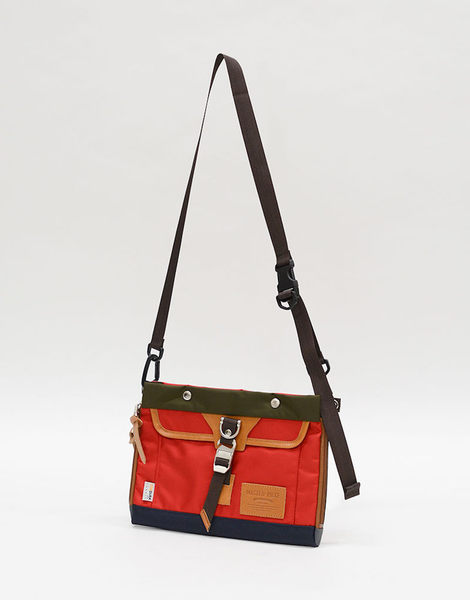 MSPC(master-piece) POTENTIAL-v2 No.01753v2-RED[高機能素材拼後背包-紅色]