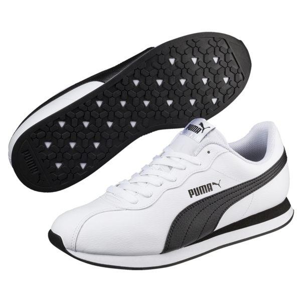 Puma Turin II 白 男女鞋 運動鞋 休閒鞋 阿甘鞋 基本款 低筒 運動 慢跑 36696204