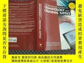 二手書博民逛書店criminology罕見and criminal justice(犯罪學與刑事司法 附光盤)《41721-4》奇