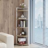 簡易角櫃臥室牆角櫃三角形儲物架拐角圓弧架三角櫃廚房轉角置物架ATF 艾瑞斯居家生活