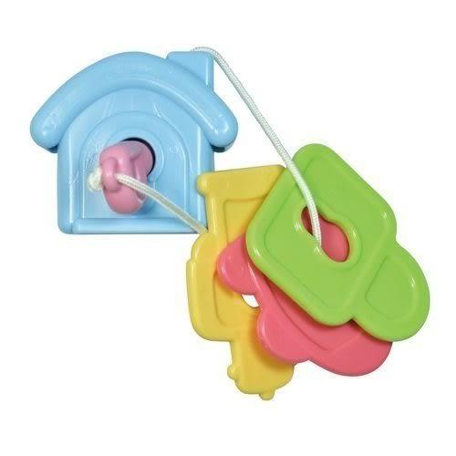 『121婦嬰用品館』樂雅 Toy Royal 鎖匙串串樂