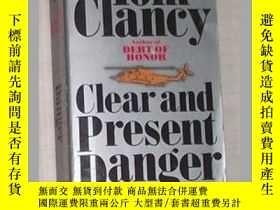 二手書博民逛書店《罕見Clear and Present Danger 》 To