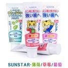 日本 SUNSTAR 巧虎兒童牙膏 70g 葡萄 草莓 薄荷 寶寶牙膏 0951 三詩達