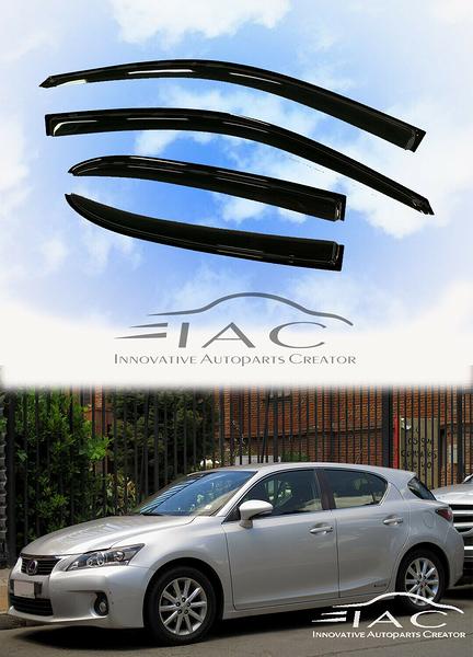 Lexus CT200h 2011-2019 台製晴雨窗 【IAC車業】