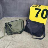 大容量休閒單肩包簡約時尚尼龍斜挎包男女短途旅行袋運動健身包包 後街五號