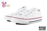 All STAR★Converse帆布鞋 寶寶 小童 基本款低筒帆布鞋 G9833#白色◆OSOME奧森鞋業