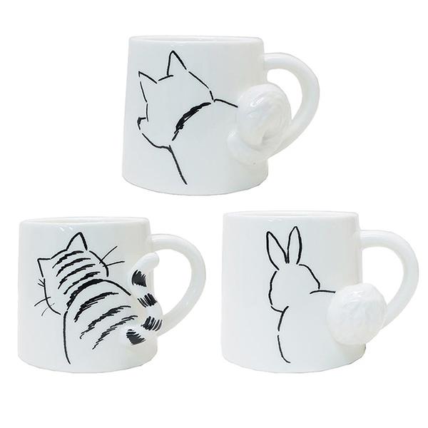 【日本正版】小動物 造型馬克杯 275ml 咖啡杯 馬克杯 249252 249269 249276