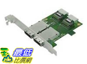 [106美國直購] Intel AXXRCVT8788 Serial ATA internal to external panel SAS 6Gbit-s 36 Pin 4i Mini MultiLane 26 Pin 4x Shielded