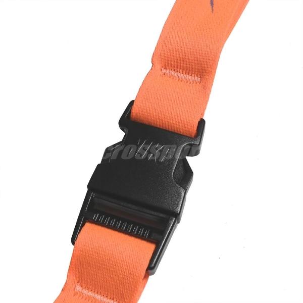 Nike 識別證吊帶 Lanyard 橘 灰 男女款 掛繩 基本款 【ACS】 NIA1782-6NS