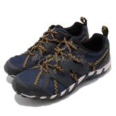 Merrell 戶外鞋 Waterpro Maipo 2 藍 黃 二代 男鞋 水陸兩棲 運動鞋【ACS】 ML48615