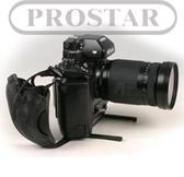【福笙】PROSTAR Grip-20 M-7370 皮製相機手腕帶 單眼相機手腕帶 附相機支撐架 鏡頭不垂頭 真皮材質