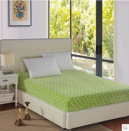 純色波點床罩-粉