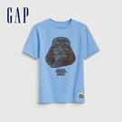 Gap男童星際大戰圓領短袖T恤573653-舒適藍