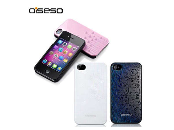 降價【A Shop】aiseso iPhone4/4s 花紋圖案保護殼/背蓋
