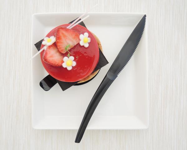 10入 19cm PS高強度蛋糕刀 蛋糕刀【W012】塑膠刀 彌月刀 瑞士捲刀 長條蛋糕刀 甜點刀