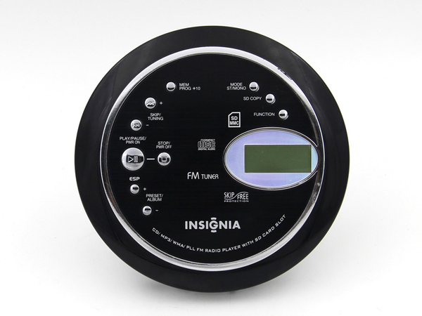CD播放機 美國INSIGNIA 便攜式CD機 CD隨身聽 支持MP3英語光盤 CD機 胎教機 星河光年