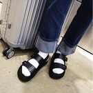 FINDSENSE品牌 男 時尚 潮 休閒 魔術貼 羅馬 涼鞋 海灘鞋