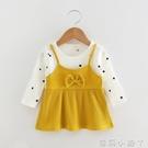 2020春秋裝新款女寶寶公主洋裝0-1-2-3歲女小童裙子女嬰兒童裝 蘿莉新品
