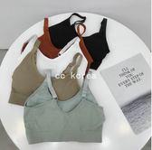 可調背帶舒適胸墊內衣 CC KOREA ~ Q21593