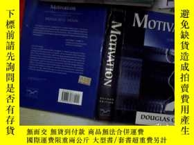 二手書博民逛書店Motivation:罕見The Organization Of