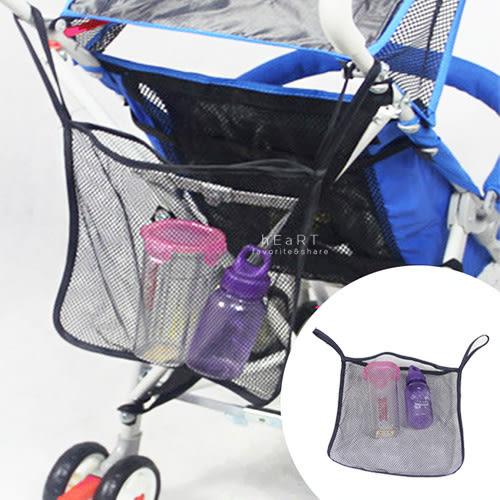 大容量手推車置物網袋 嬰兒推車掛袋 網袋 外出收納袋