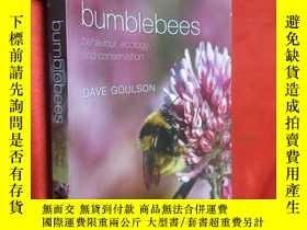 二手書博民逛書店Bumblebees:罕見Behaviour, Ecology,