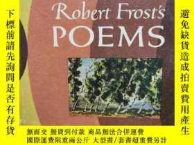 二手書博民逛書店羅伯特·弗羅斯特罕見The Pocket Book of Rob
