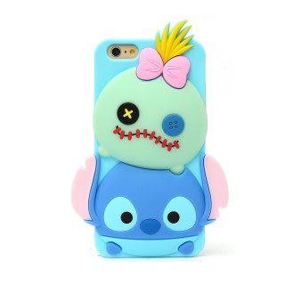 【漢博商城】86hero Disney iPhone 6 Plus 矽膠軟式保護套 - Tsum Tsum 史迪奇